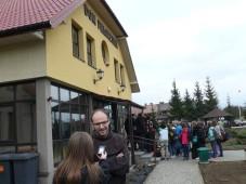 Recepcja u OO. Bernardynów (fot. Kamil Gorczyca)