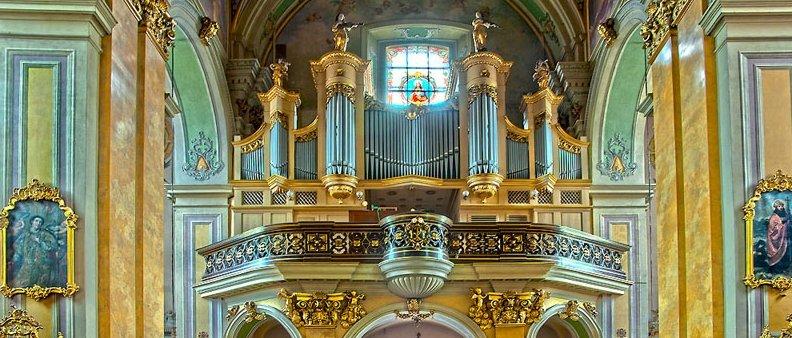 Organy w Bazylice Archikatedralnej w Przemyślu fot. Janusz Monkiewicz