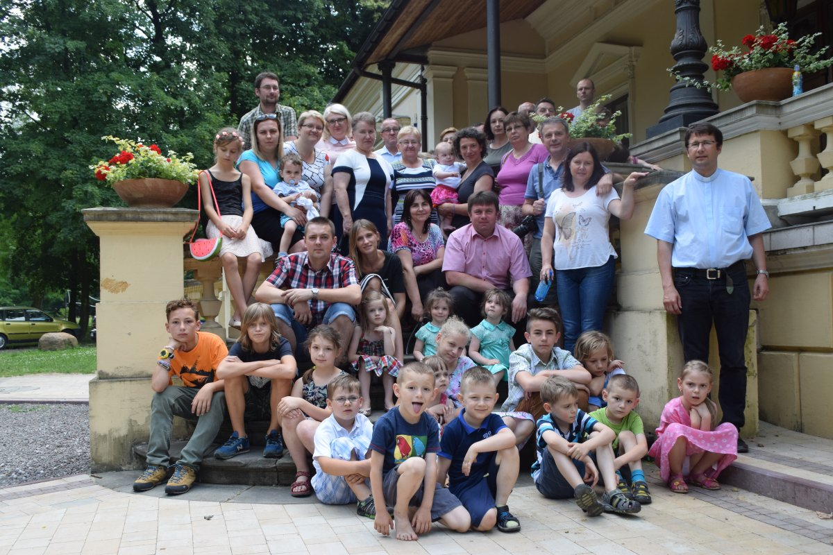 Uczestnicy rekolekcji w Lipniku. fot. R. Jasina