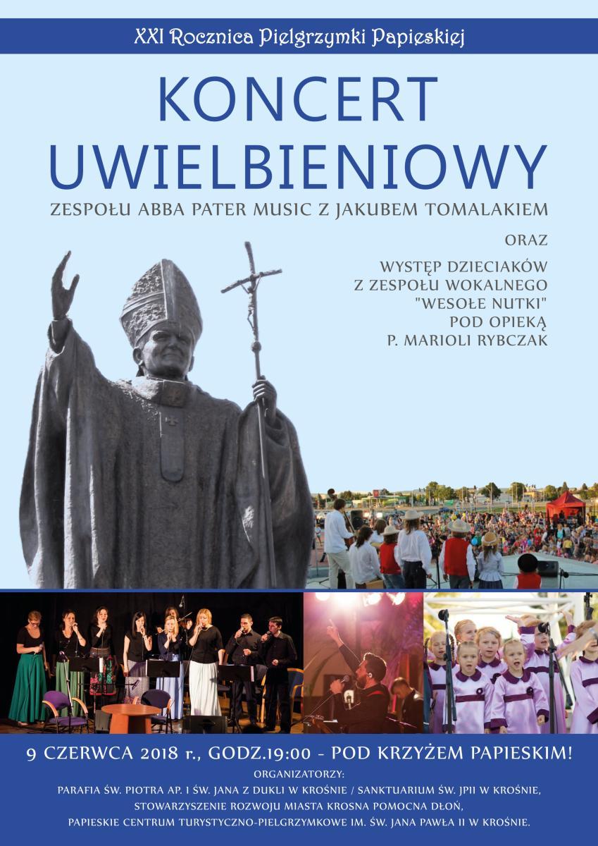 JP2 w Krośnie: koncert uwielbieniowy